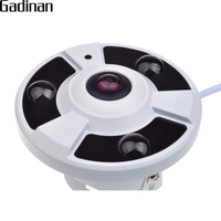 GADINAN AHD Panoramic 360 Degree Fisheye Camera NVP2441 SONY IMX323 AHDH 1080P Full HD CCTV Camera