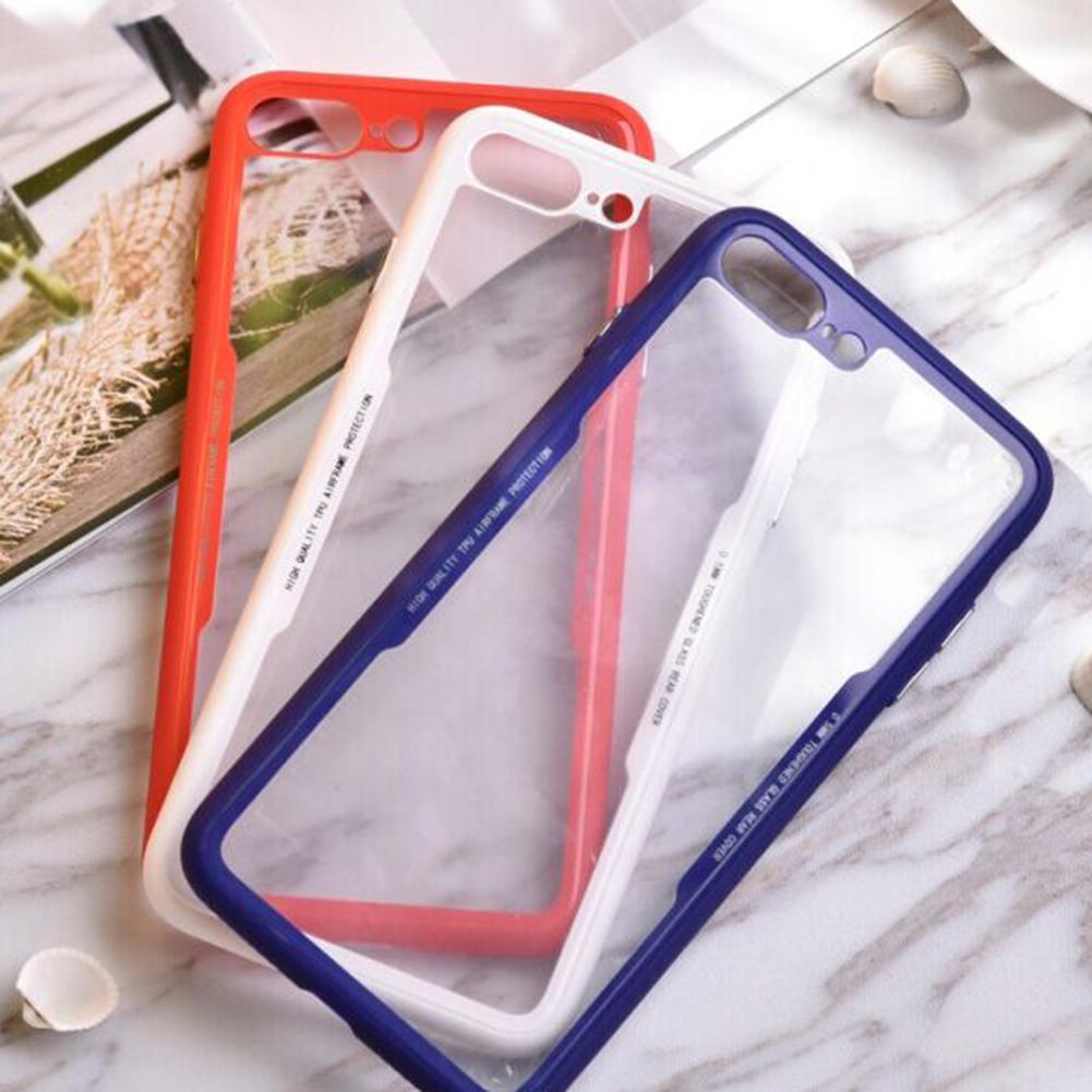 New Arrival TPU PC Ultra-thin Transparent Phone Cover Case Phone Shell For iPhone7/7plus/8/8plus