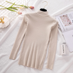 New Turtleneck Knitted Sweater Female Casual Pullover Women Autumn Winter Tops Korean Sweaters Fashion 2018 Women Sweater Jumper 5
