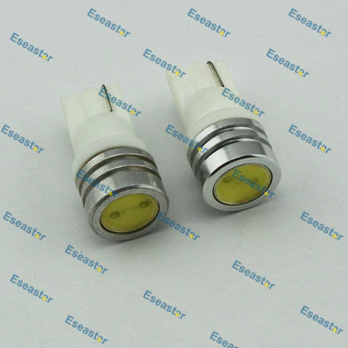 2 pcs/lot Free Shipping Super Quality 1W LED,168 led bulb,W5W high power led,t10 car light led image