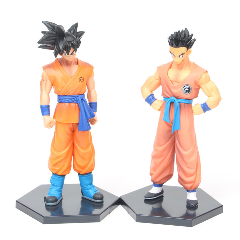 Action & Toy Figures Beautiful 18cm Dragonball Z Super Saiyan Son Goku Gokou Bardock Ssj Collection Dbz Zeno Model Pvc Action Figures Moderate Cost