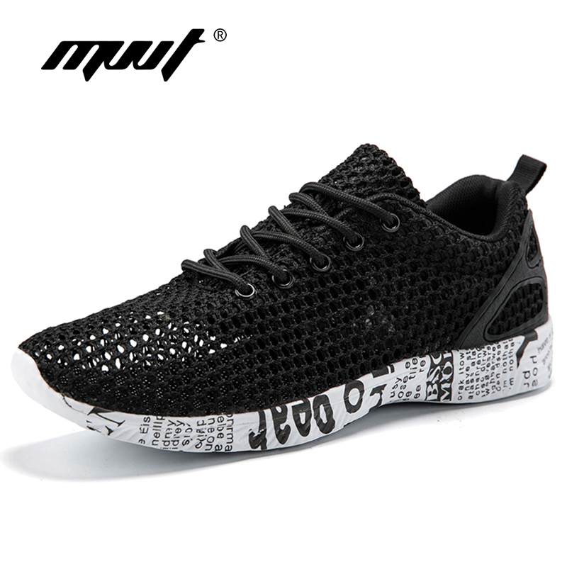 Cool Mesh Summer Running Shoes Men Sneakers Light Weight Men Sport Shoes Sea Beach Water Shoes Breathable Shoes