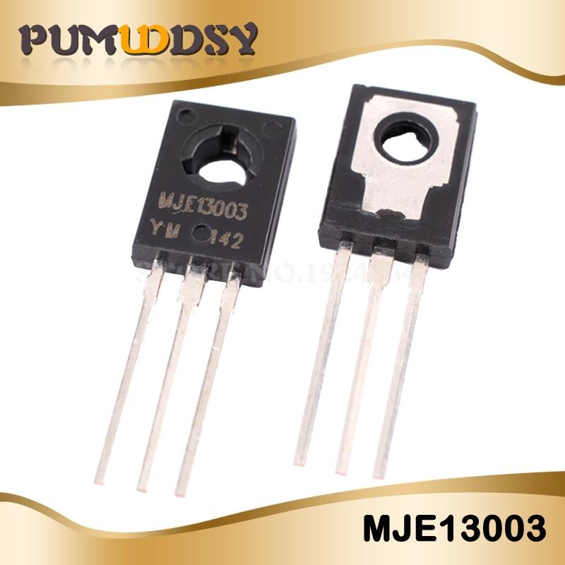 50PCS/LOT MJE13003 E13003-2 E13003 TO-126 13003 400V 1.5A IC