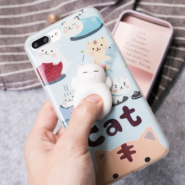 Squishy Iphone 6 Plus Case : Squishy Phone Cases 2017 Hot Sale Phone Cover for iPhone 7 7 Plus 6s 6 6 Plus Case Marshmallow ...