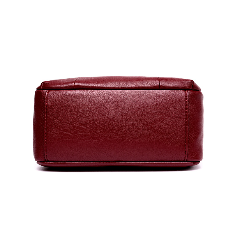 Fashion Small Genuine Leather Messenger Bag Women 2018 Design Brand Handbag Ladies Shoulder Crossbody Bags For Women bolsos sac in Shoulder Bags from Luggage Bags