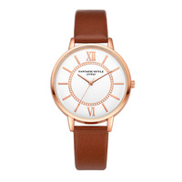 Fashion leather ladies watch women watches business quartz wristwatch clock bracelet watch montre femme bayan saat.jpg 200x200