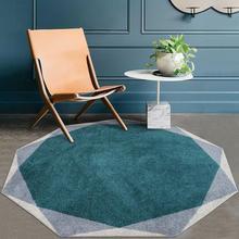 INS скандинавский 3D Geonetric ковер для кабинета ковры круглые коврики для журнальный столик для гостиной спальни компьютерное кресло ТАПИС коврик