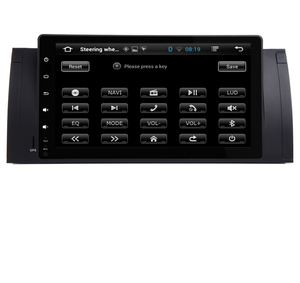Image 5 - Radio Multimedia con GPS para coche, Radio con Android 10,0, 2 gb ROM, navegador Navi, 9 pulgadas, completamente táctil, DVD, Wifi, 3G, BT, RDS, Can bus, DVR, para BMW E53, X5, E39, 5, 97 06
