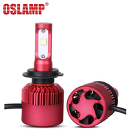 80w Pair Cree H4 Hi Lo Beam LED Headlight 6000k 12V 24V Auto LED Light Bulb