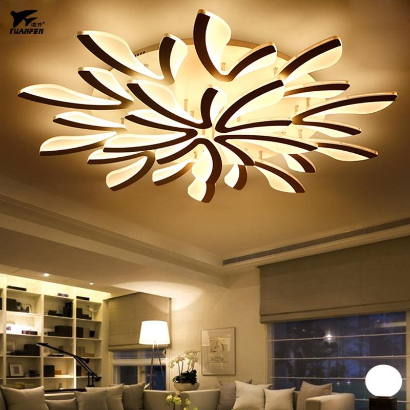 US $26.0 50% OFF|Acryl led Remote decke lampe control led dimmen decke  lichter zimmer licht für wohnzimmer schlafzimmer lampe-in Deckenleuchten  aus ...