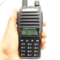 מכשיר הקשר 2pcs מכשיר הקשר CB רדיו Baofeng UV-82 Dual Band 136-174 / 400-520 MHz FM משדר Ham שני הדרך רדיו FM משדר 8W מתח (2)