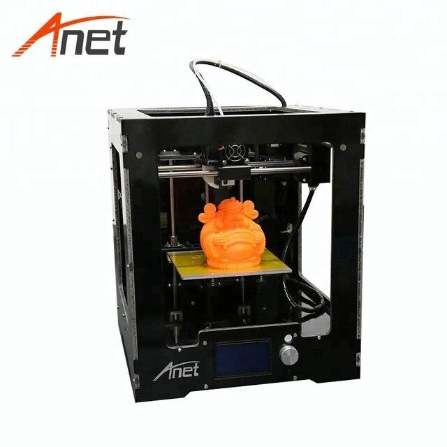 Anet A3S Highest Precision Metal Casing 3d Printer Machine Assembled 150*150*150mm Printing Size 12864 LCD Screen Impressora 3d