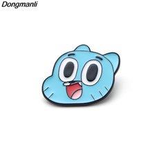 P2456 dongmanli мультфильм аниме эмалированная булавка бриллиантовые