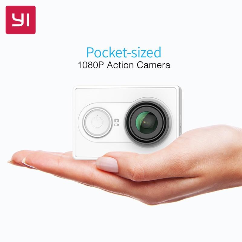 YI Action Camera 1080P 16.0MP 155 degree Ultra-wide Angle 3D Noise Reduction WiFi Sports Mini Camera gv200h 360 220 degree wide angle panorama mini wifi action sports camera free shipping