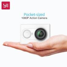 YI Eylem Kamera 1080 P 16.0MP 155 derece Ultra geniş Açı 3D Gürültü Azaltma WiFi Spor Mini Kamera
