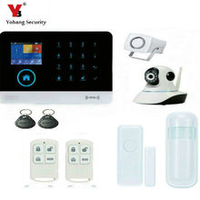 YobangSecurity Wifi Alarm System GSM Wireless Home Burglar Security System With Video IP Camera Auto Dialer Android IOS APP