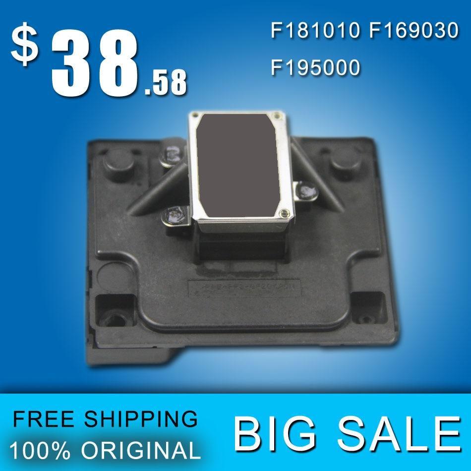 ФОТО Original F181010 Printhead Gray Face Print Head For Epson ME510 L101 L201 L100 ME32 C90 T11 T13 T20E L200 ME340 TX100 TX101