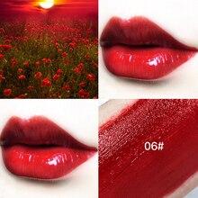 Hot 1PC Lips Makeup 6 Colors Liquid Lipstick Mirror Surface