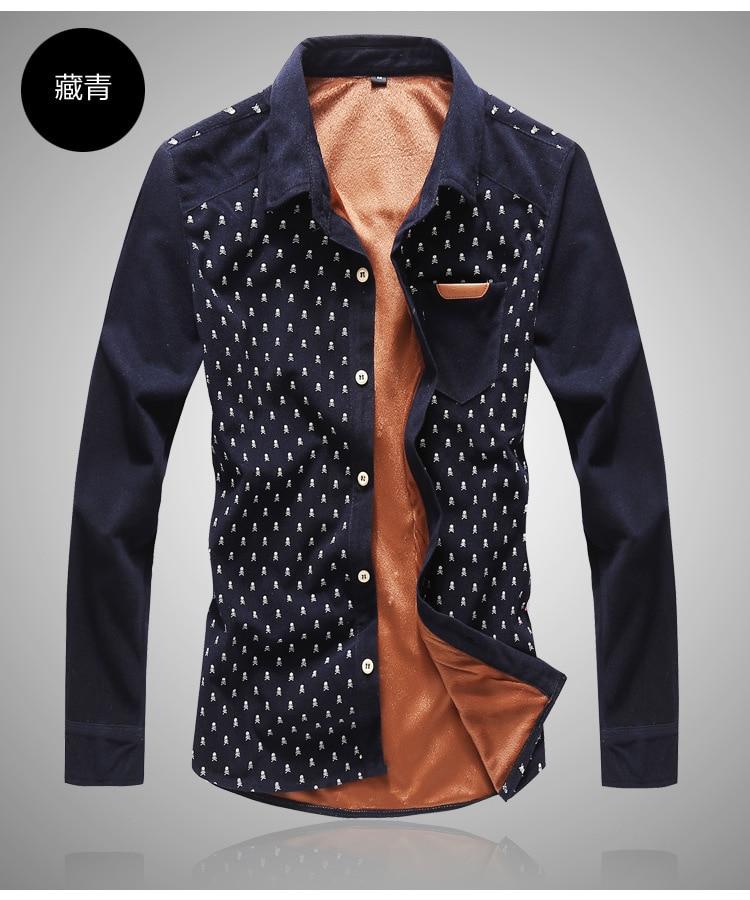 XXXL 4xl 5xl 6xl 7xl 8xl men shirt shirts mens dress brand clothes slim fit denim men's clothing Men's - Online Store 226431 store