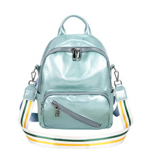 Candy Color Sweet College Wind Mini Shoulder Bag High Quality PU Leather Fashion Girl Cute Small Backpack Female Bag mochila J3 цена