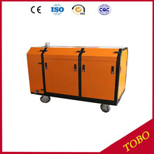 Portable abrasive water jet cutting machine used for coal mine