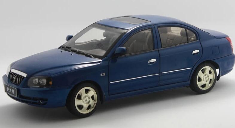 2015 Hot Sell Hyundai Elantra 1 18 Alloy Car Model In