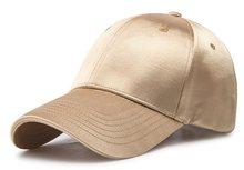 400498e5dc8 6pcs Summer Silky Gold Pink Plain Baseball Caps for Women Men Blank Blue  Black Polyester Base Ball Hats for Spring Wholesale