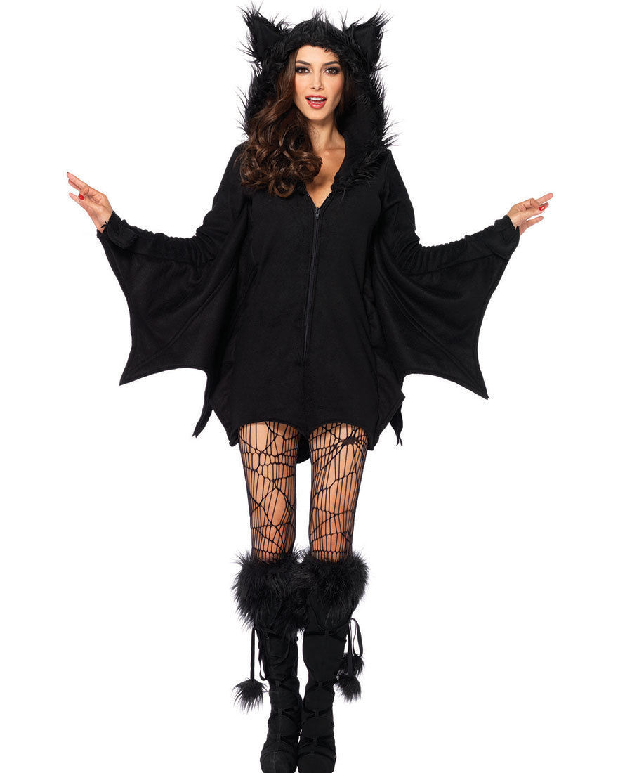 M XL Sexy Adult Halloween V&ire Costume Women Black Evil Bat Costume Clothes Halloween Masquerade Plays V&ire Costumes-in Holidays Costumes from Novelty ...  sc 1 st  AliExpress.com & M XL Sexy Adult Halloween Vampire Costume Women Black Evil Bat ...