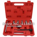 7PCS Diesel Injector Seat Cutter Clearner Tools Carbon Remover Car Garage Tool Kit