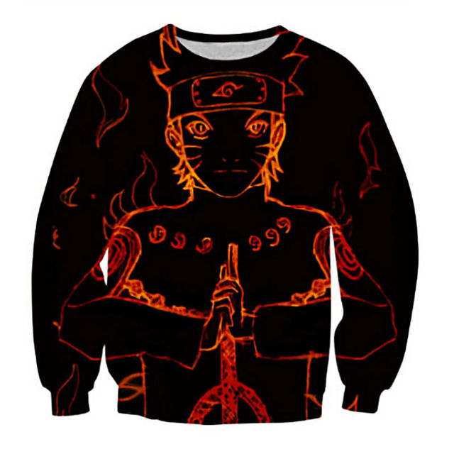 Naruto Printed Sweatshirt