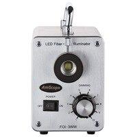 Amscope 30 w led 차가운 광섬유 illuminator LED-30W