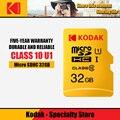 75a0d72726e15 Kodak Yüksek Hızlı 16 GB TF/Mikro SD kart 32 GB cartao de memoria class10