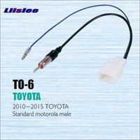 Car Radio Antenna Adapter Cable Wire For Toyota 2010 2013 Aftermarket Stereo CD DVD GPS Installation
