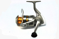 Topline Tackle High Quality Free Shipping Fishing Spinning Reel UF Series 6+1BB,,Alu Spool With 2 Row Hole,Front Drag For Sale