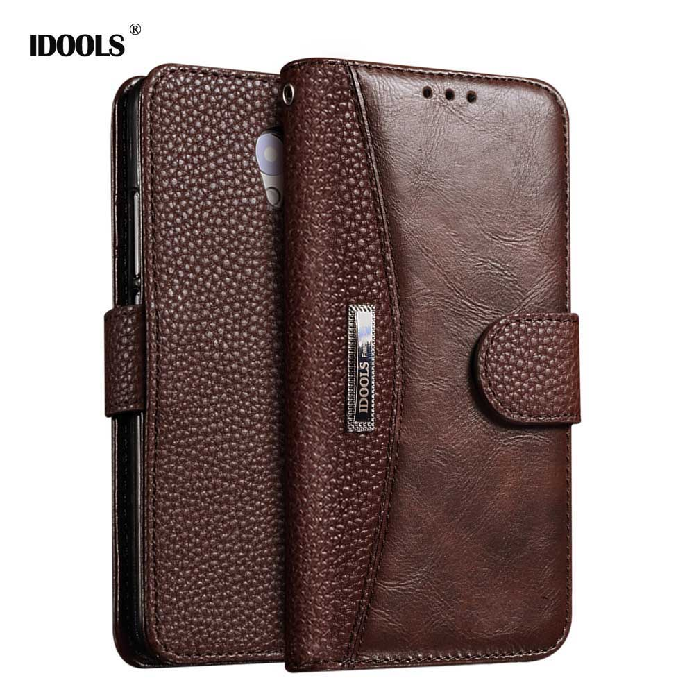 IDOOLS Case For Samsung Galaxy A3 2016 Cover PU Leather Flip Card Holder Phone Bags Case ...