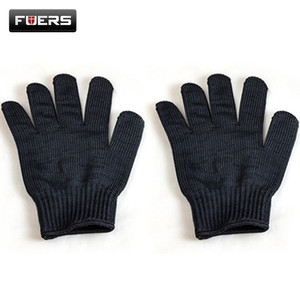 Image 2 - Fuers Gloves Proof Protect Stainless Steel Wire Safety Gloves Cut Metal Mesh Anti Cutting Breathable Work Gloves Self Defense