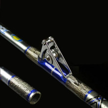 1PCS/Pack 1.98M 2 Sections Heavy Jigging rod Boat Trolling Big Game Fishing Stick Roller Guide Extra Hard Slow Casting Fishing цена