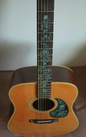 Fretboard Markers Inlay Sticker Decals for Guitar Oriental Flowers Mix