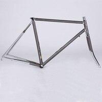 4130クロームモリブデン鋼フレーム52センチロードバイクフレームセット固定ギア自転車アクセサリーマウンテン自転車フレーム超軽量