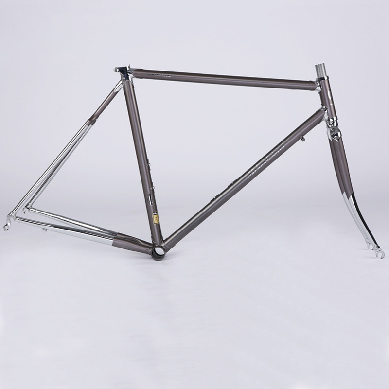 4130chrome molybdenum steel frame 52cm road bike frameset fixed gear bicycle accessories mountain bicycle frame super