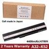Original Quality Korea Cell Battery For ASUS A52 A52J A52F A52JB A52JK K52f A42 K52 K52J
