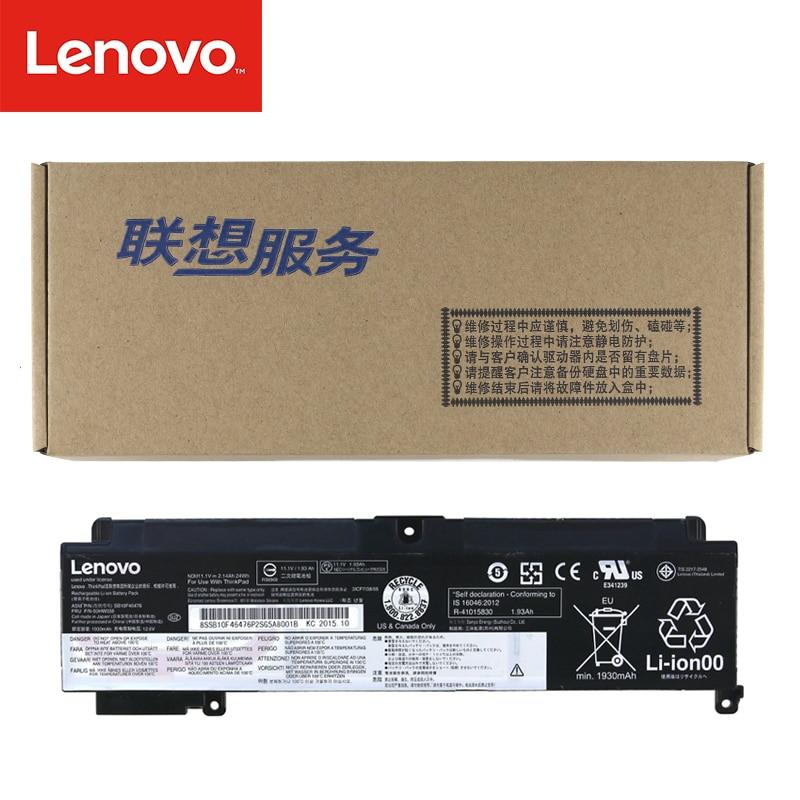 Original Laptop battery For Lenovo ThinkPad T460s 01AV405 01AV407 SB10J79004 SB10F46463 00HW024 00HW025 11.1V 24Wh 00HW038 14 8v 46wh new original laptop battery for lenovo thinkpad x1c carbon 45n1070 45n1071 3444 3448 3460