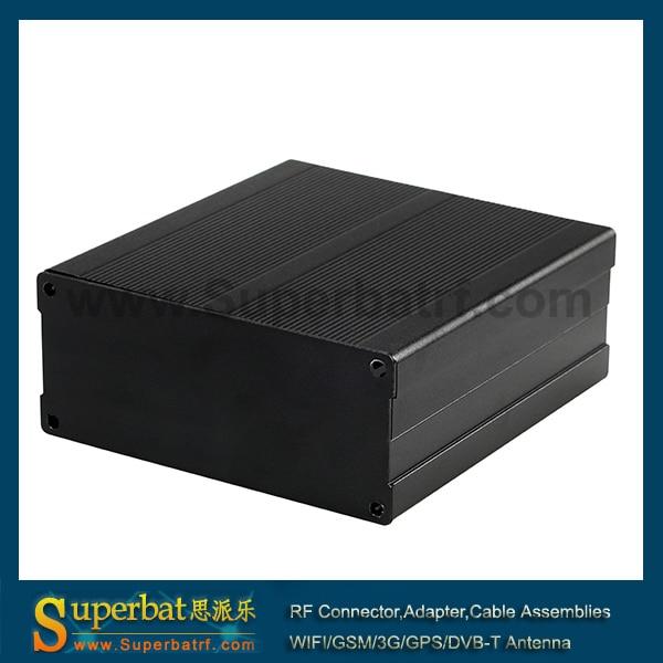 Aluminum Box Enclosure Black Case Project Electronic DIY 100*66*27MM L*W*H