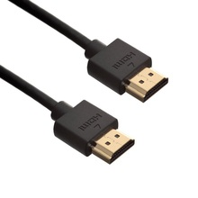 Slim Profile HDMI Cable High Speed with Ethernet HDMI Cable 1m 2m 3m for high speed transmission of digital audio & video data