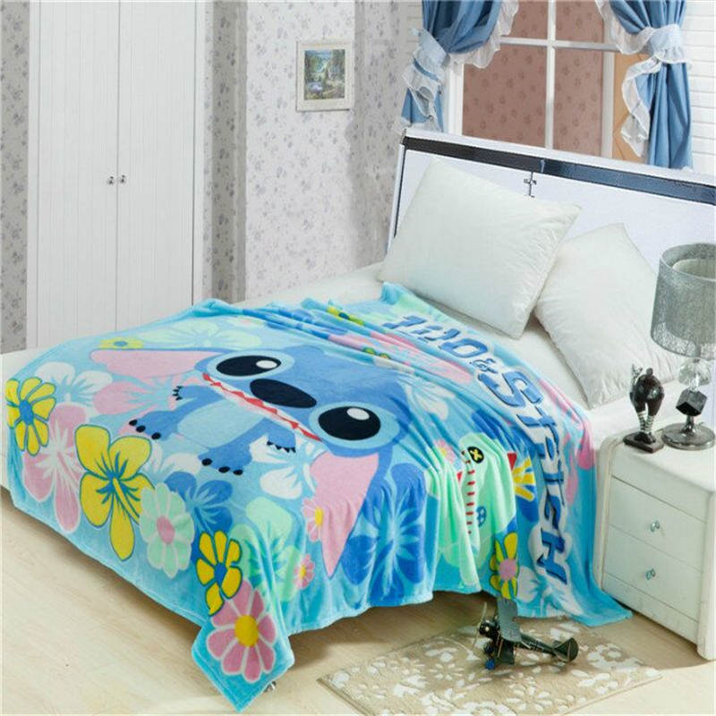 Lilo-Stitch-Floral-Printed-Blankets-Throws-for-Girls-Boys-Children-s-Kids-Gift-Home-Bedroom-Decoration
