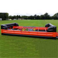 outdoor inflatable football field sport game equipment PVC durable waterproof