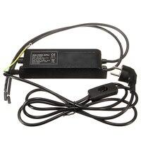 EU Plug Neon Transformer Power Supply With Dimmer Neon Adjust Ballast 8KV 220V 30mA For Indoor