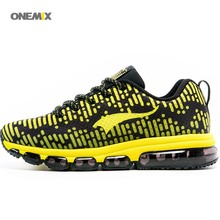 ONEMIX 2017 FREE wholesale Mosaic common sport Run dynasty sneaker stripe gymnasium barefoot Men's Running air cushion sneakers 1180