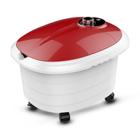 Constant Temperature Household Foot Tub Fully Automatic Heating Foot Massage Electric Foot Bath Machine Deep Bucket