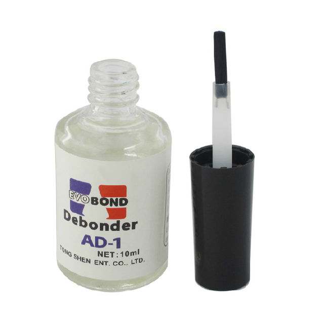 Nail art ad-1 dispergation agent sclerite false nail rhinestone pasted glue cleanser